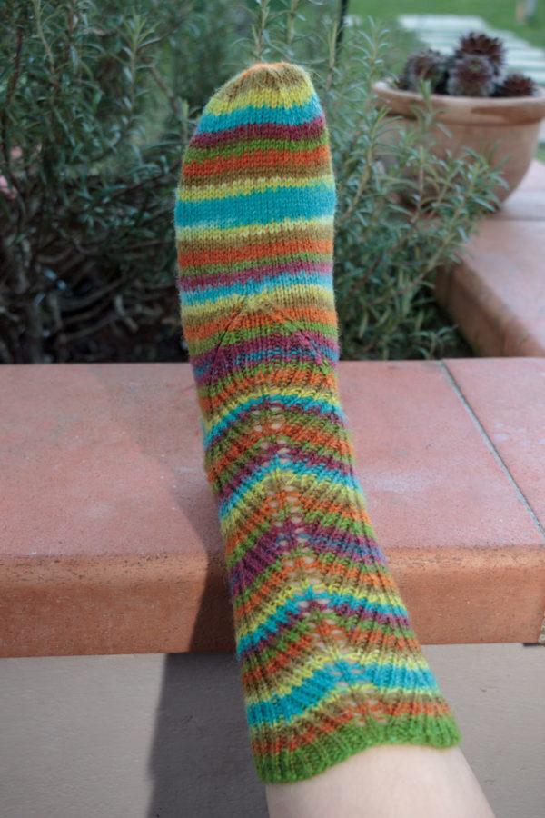 calze di lana ai ferri