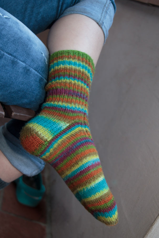 calzini fatti ai ferri