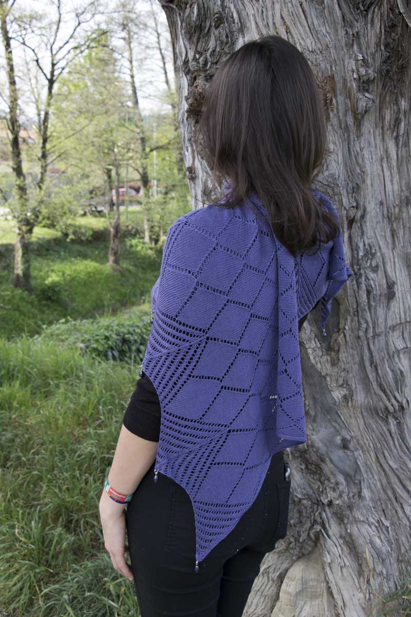 """Chiara"" with Lace yarn by Maria Grazia Berno"