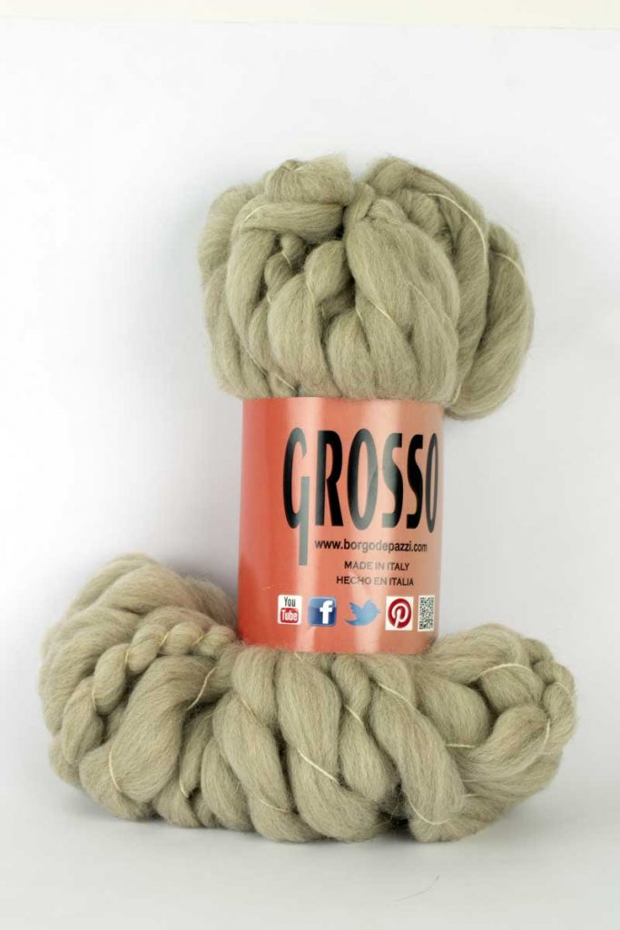 Grosso by Borgo de' Pazzi is probably the biggest yarn in the world