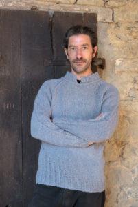 Modello maglia da uomo
