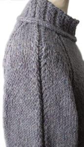 Sferruzzare una maglia da uomo