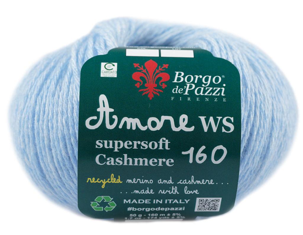buy online d16bb 277f9 it]Filato cashmere Amore ws prodotto da Borgo de' Pazzi ...
