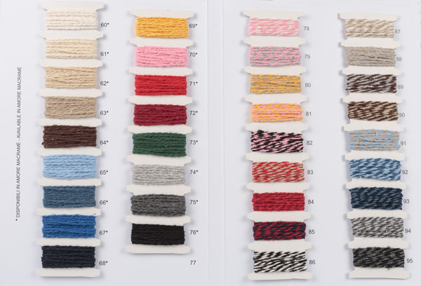 cartella colori Amore cotton