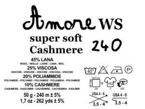 amore cashmere 240